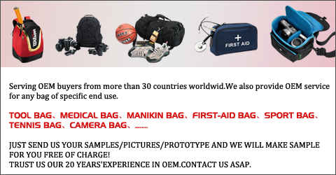 OEM service for luggage and bags