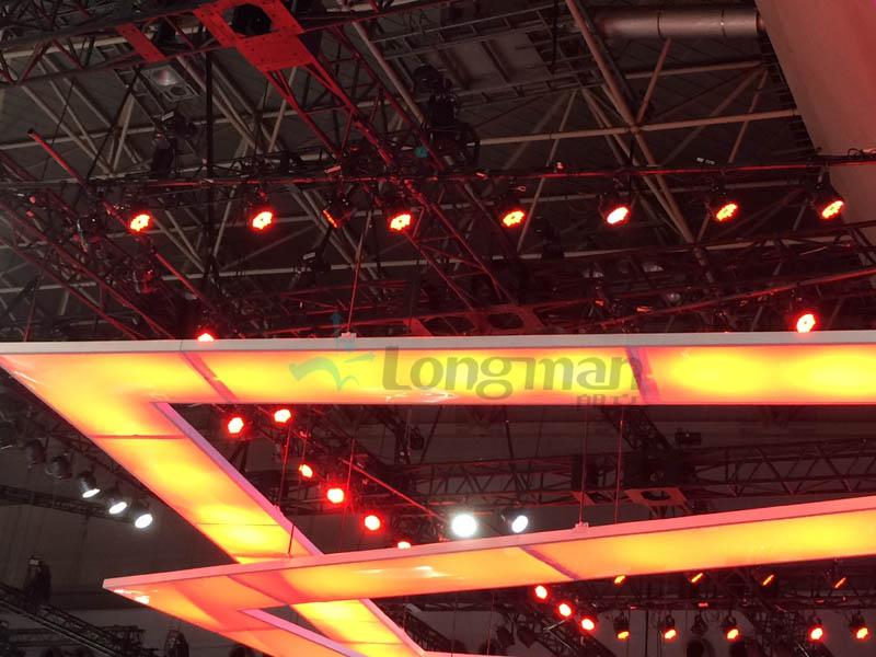 Longman led par light used for motor show in Tokyo