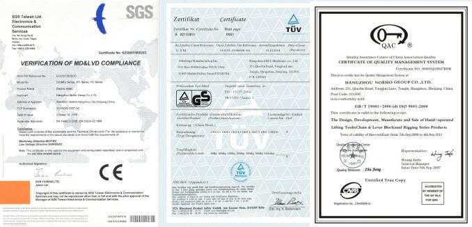 CE&GS Certificate