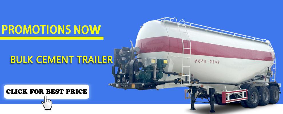 40m3 bulk cement tank semi trailer for promotional