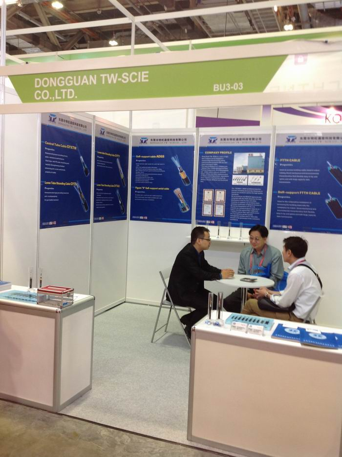 Communication Asia Exhibition in Singapore in 2013