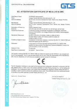 KIET CE Certificate