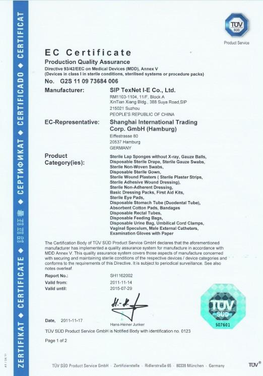 CE certificate1