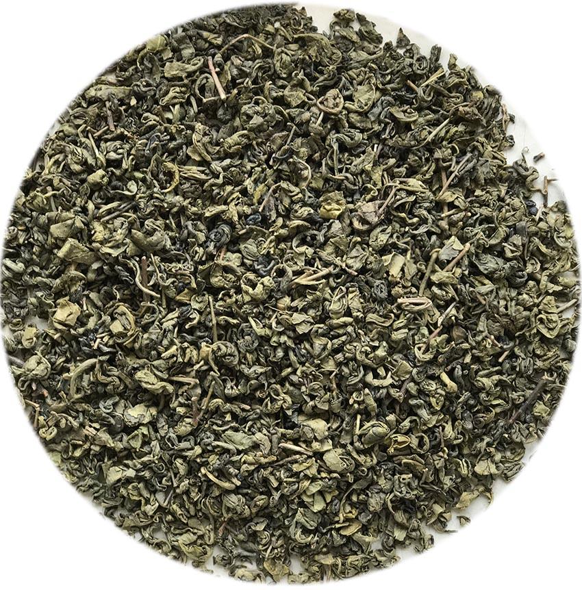 Organic Gunpowder Green Tea with NOP and EC834/2007