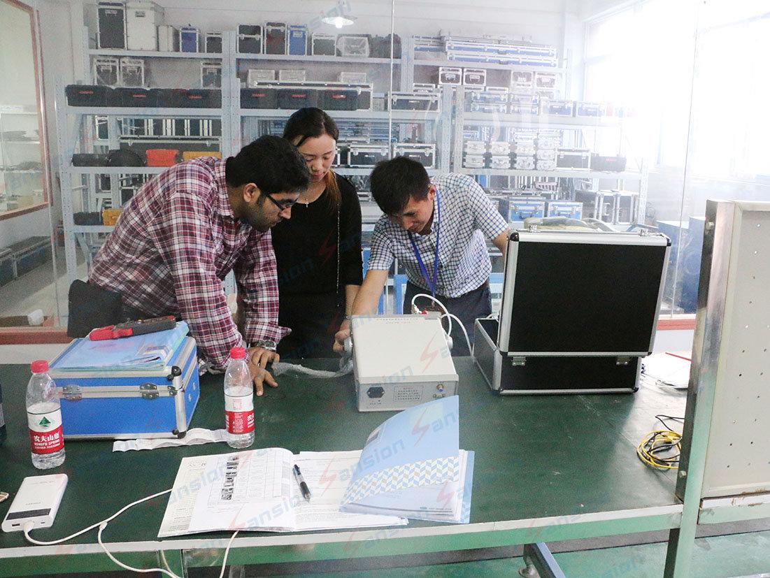 Pakistan Clients Visiting Sansion