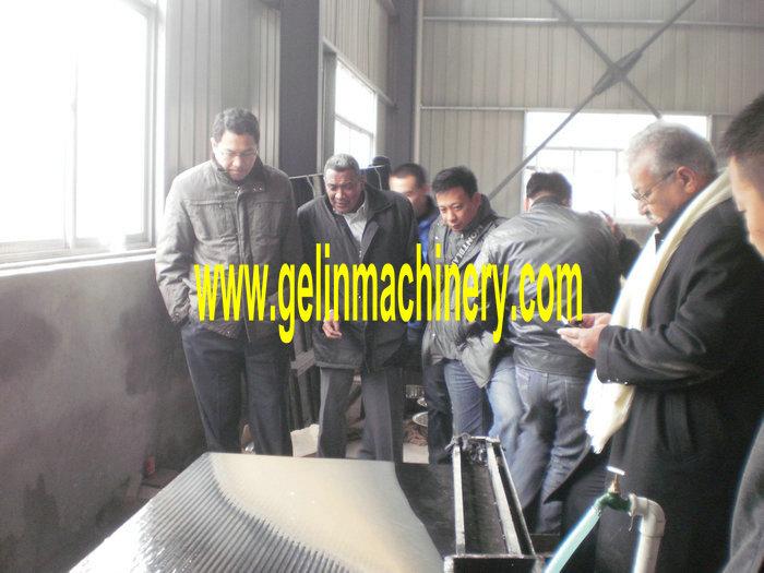 Feb28, 2012 Sudan Customer Visiting