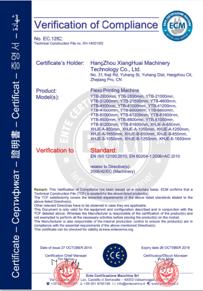 Machine Certificate (ECM)