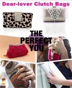 2013 New Fashion Dear-lover Evening Clutch Bags