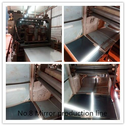 No.8 Mirror production line