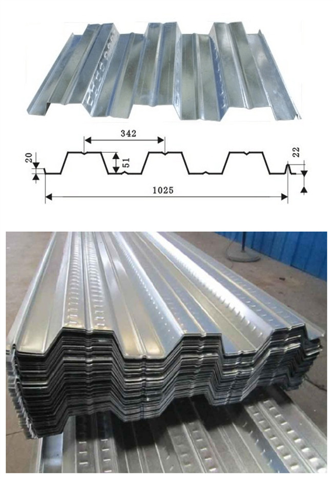 New Produce Line--Floor Deck TCT:0.6mm--1.2mm WIDTH:1250/1025