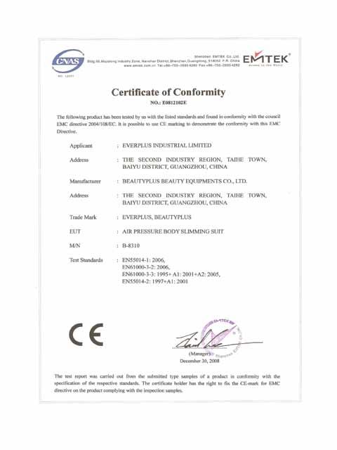 CE Certificates 02