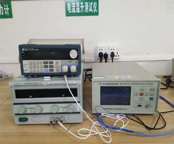 Current temperature rise tester