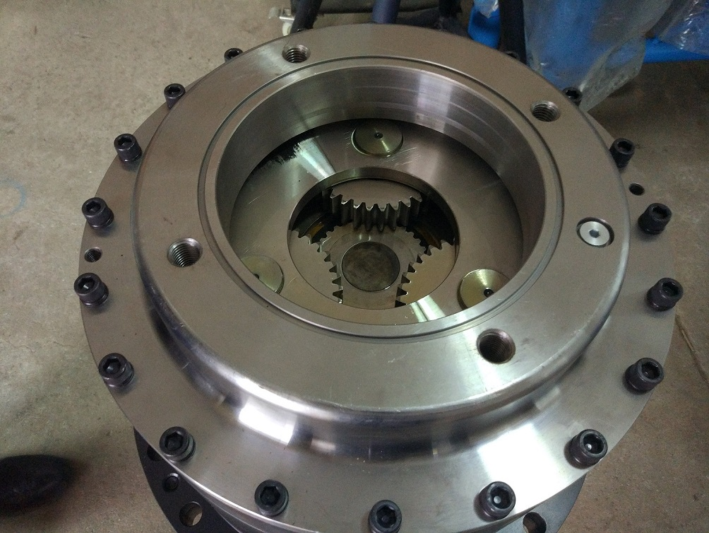 Gear box for auger drive