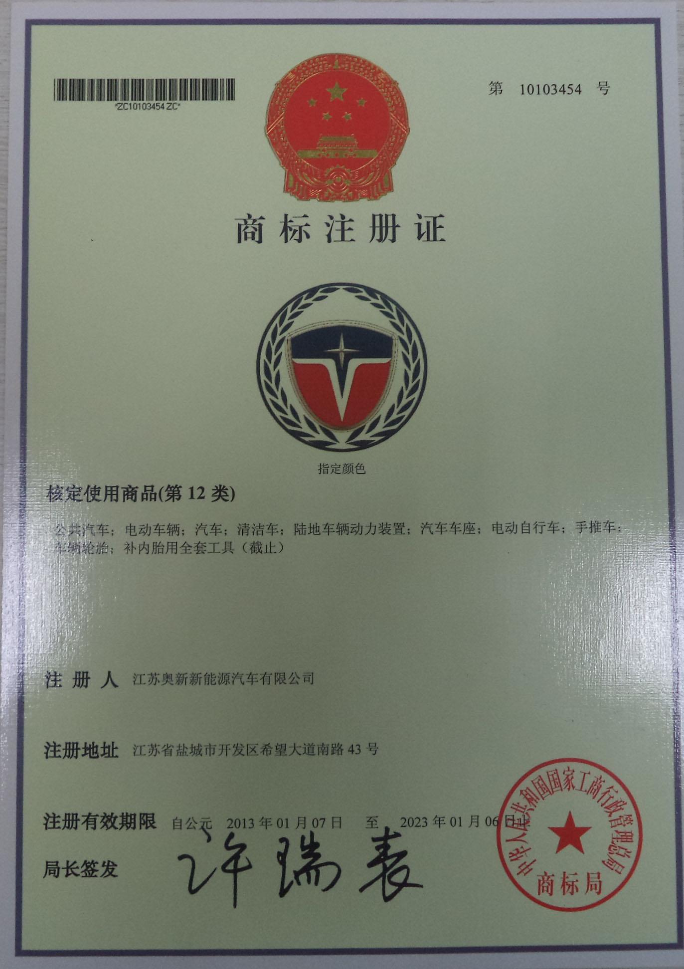Trademark Certification logo