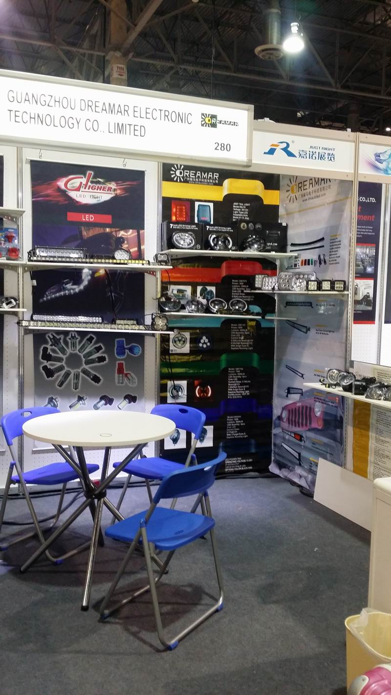 our booth in APPEX SHOW in USA