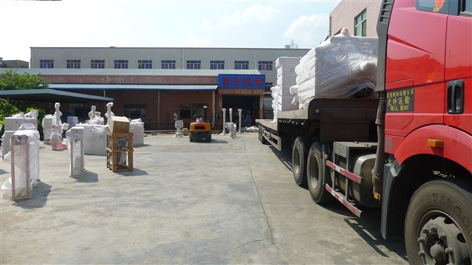 package and delivery of extrusion production line