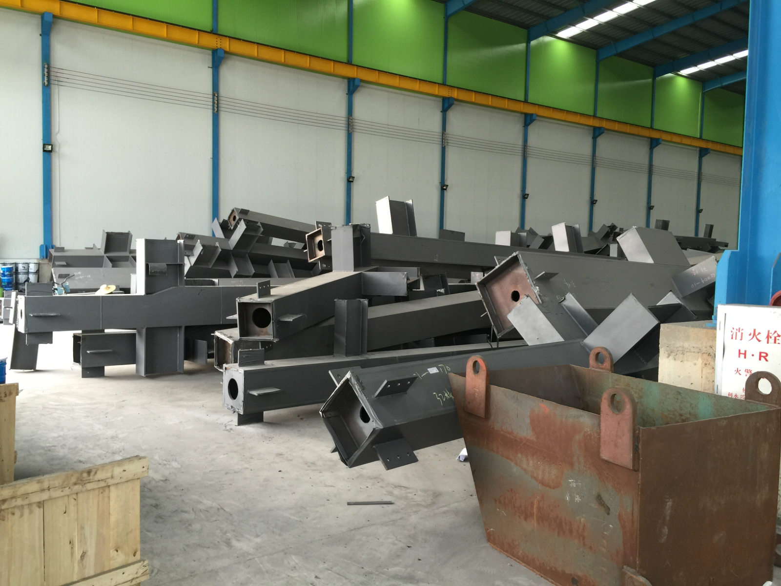 Reliable steel structure building manufacture for OEM project