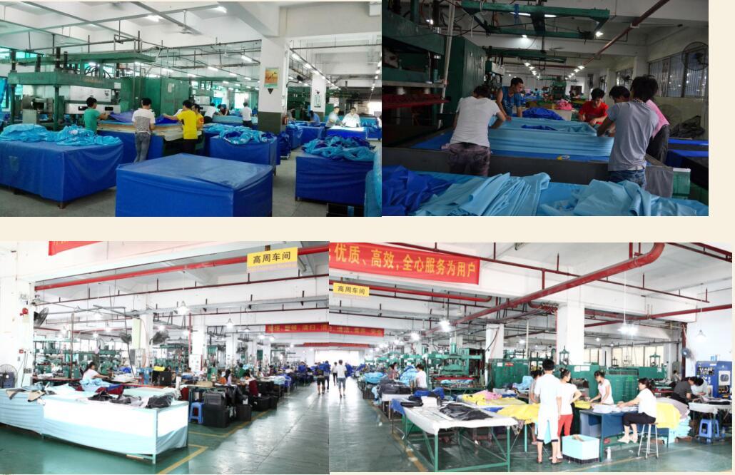 high frequency welding workshop