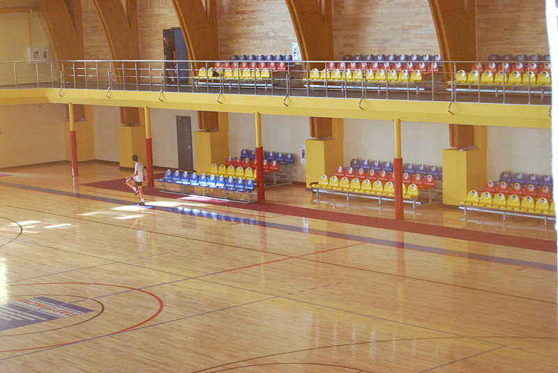 Indoor gym bleacher projects