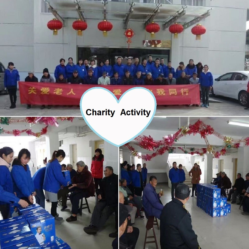 Charity Activity of Our Company