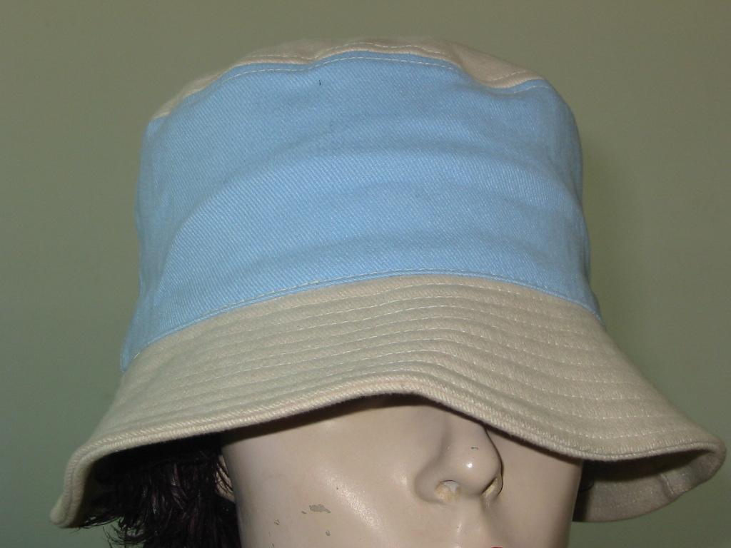 Light Brushed Cotton Bucket Floppy Hat