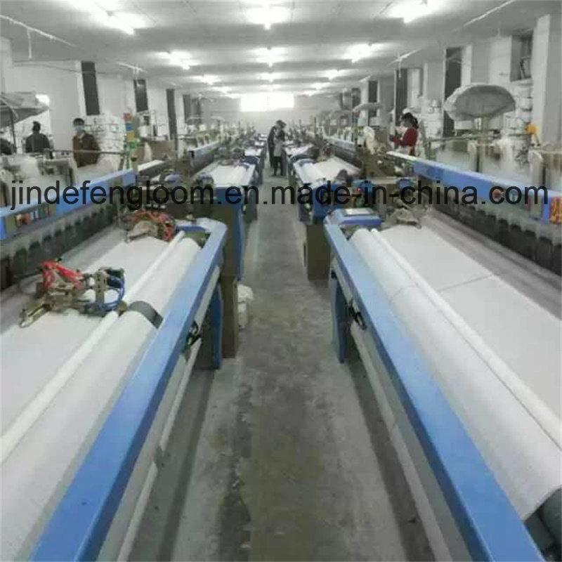 Running loom in customers' factory