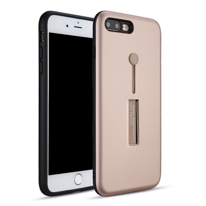for iPhone 7 Plus 7+ PC+TPU 2 in 1 Anti-shock Armor Case