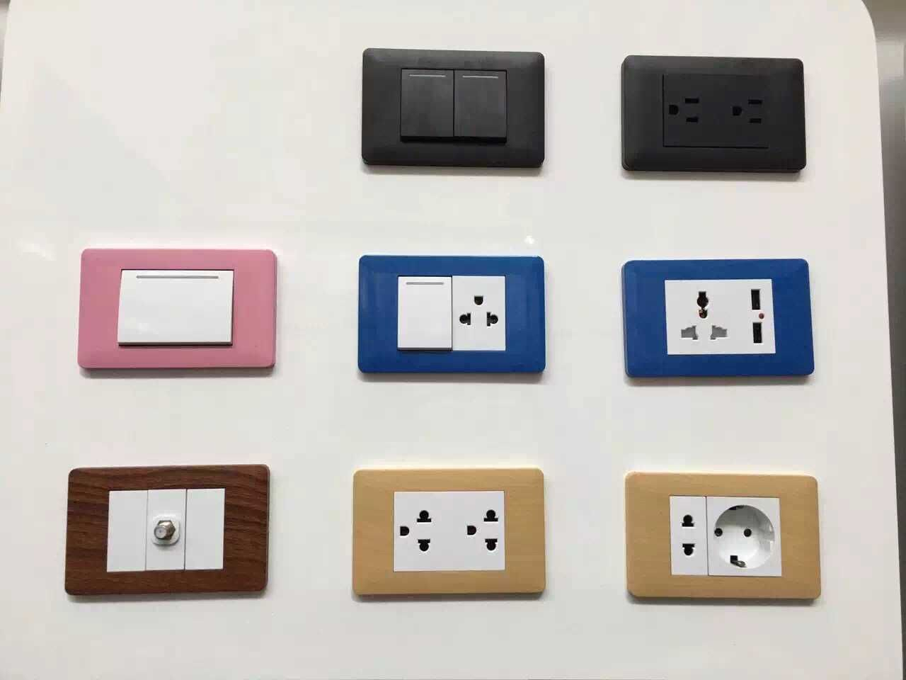 Colorful Wall Switch Socket