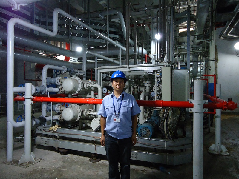 RSP Service to Chinese Nuclear Plant