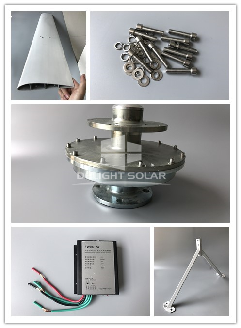 500W VERTICAL AXIS WIND TURBINE TO BE APPLIED IN UNITED STATES