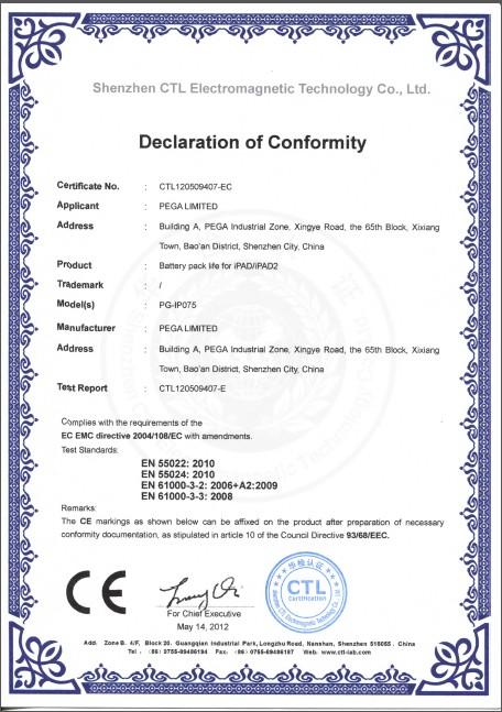 CE Declaration of Conformity - Guangzhou Merliya Electronic Technology ...