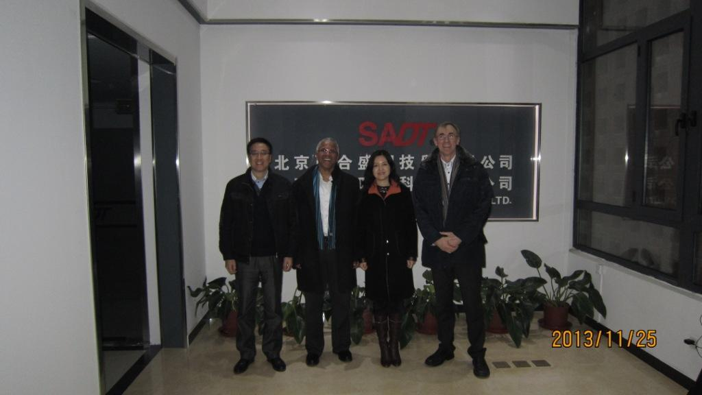 German partner visited our company for further cooperation