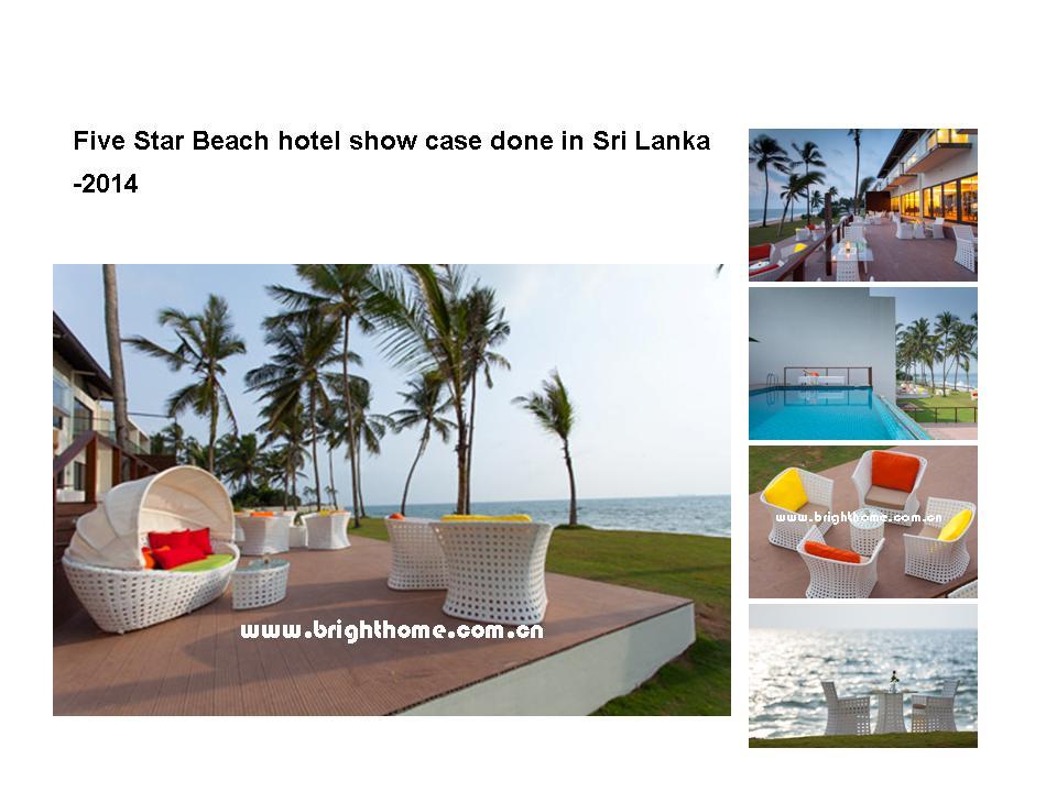 Five Star Beach hotel show case done in Sri Lanka -2014