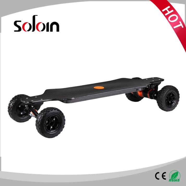 OFF ROAD Carbon Fiber 1600W*2 dual Motor Electric Skateboard