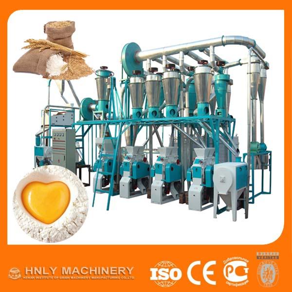 50 ton per day wheat flour making machine
