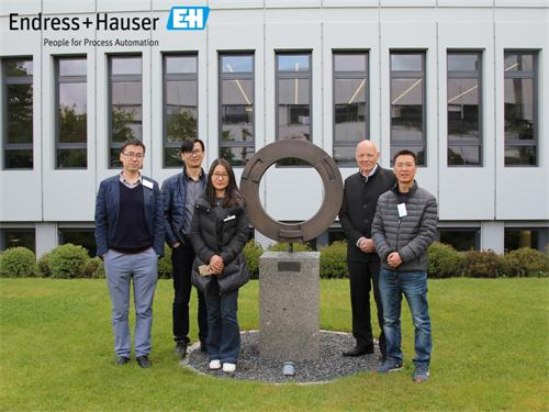 LEEG visited Endress+Hauser Maulburg to deepen strategic cooperation for pressure transmitters