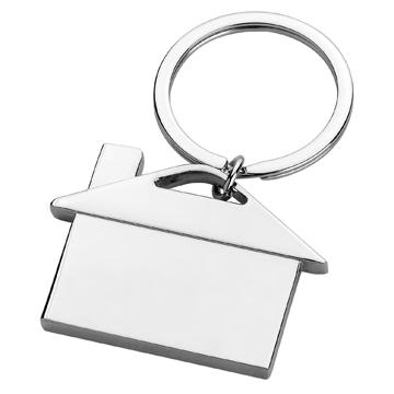 promotional cheap house shape keychain F1325