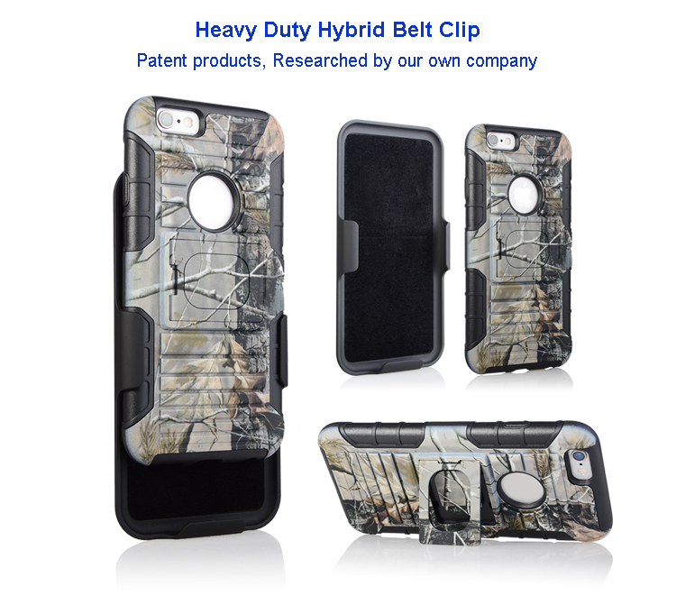 Belt clip Holster with picture for Iphone