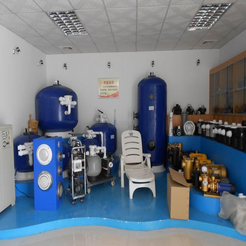 Showroom guangzhou jiezhichen swimming pool sauna for Pool showrooms