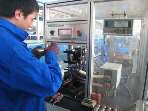 Armature welding