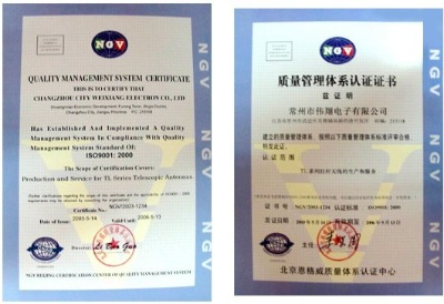 ISO9001 APPROVED