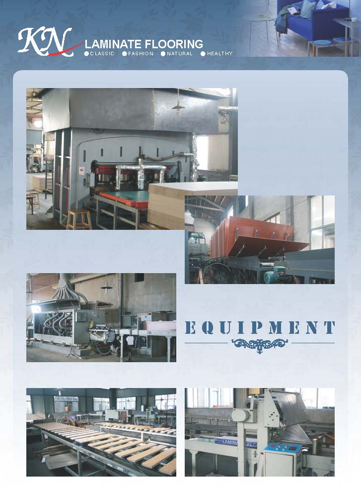 Equipments for Laminated Flooring