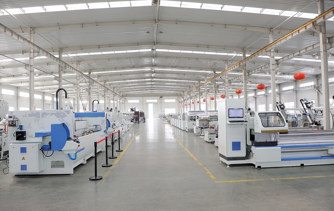 Parker Aluminium And Pvc Window Door Machine Factory