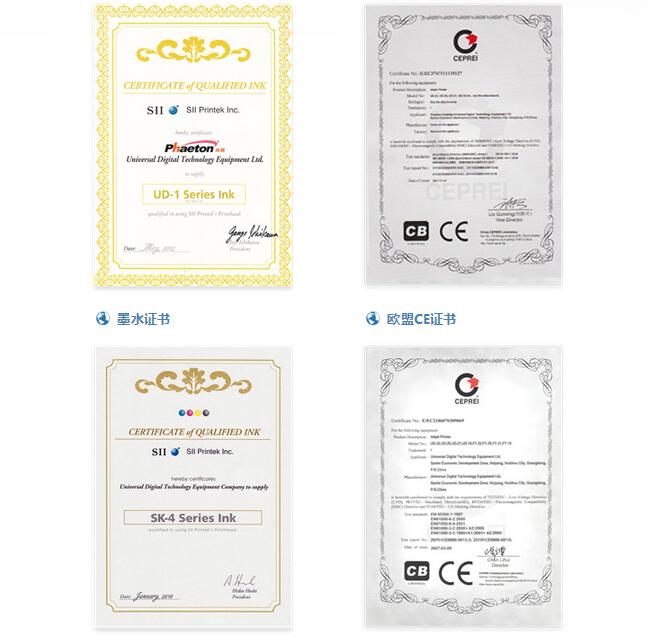 Ink Certificate
