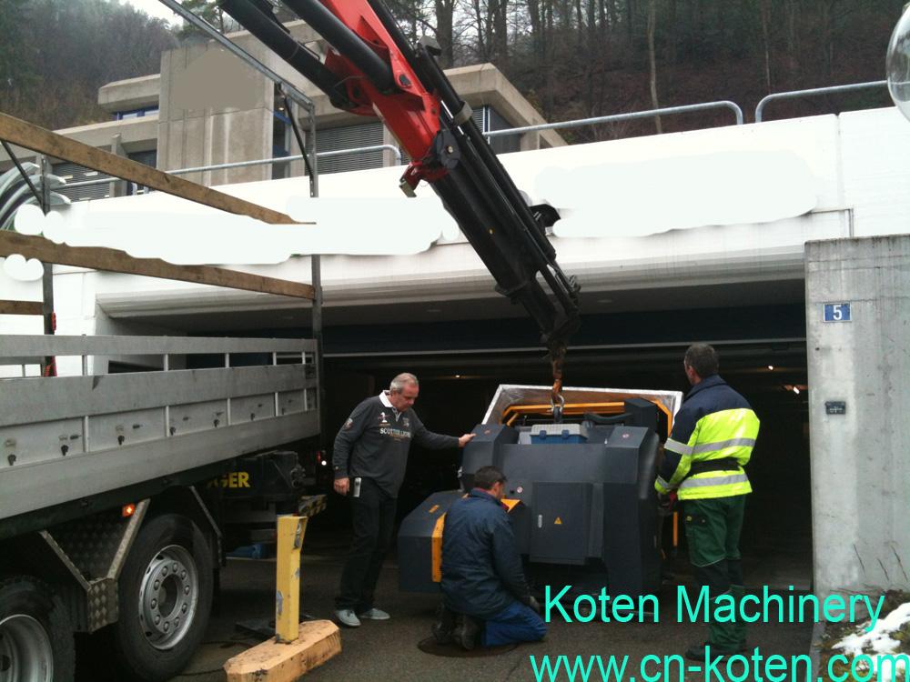 Exported Machines to Switzerland