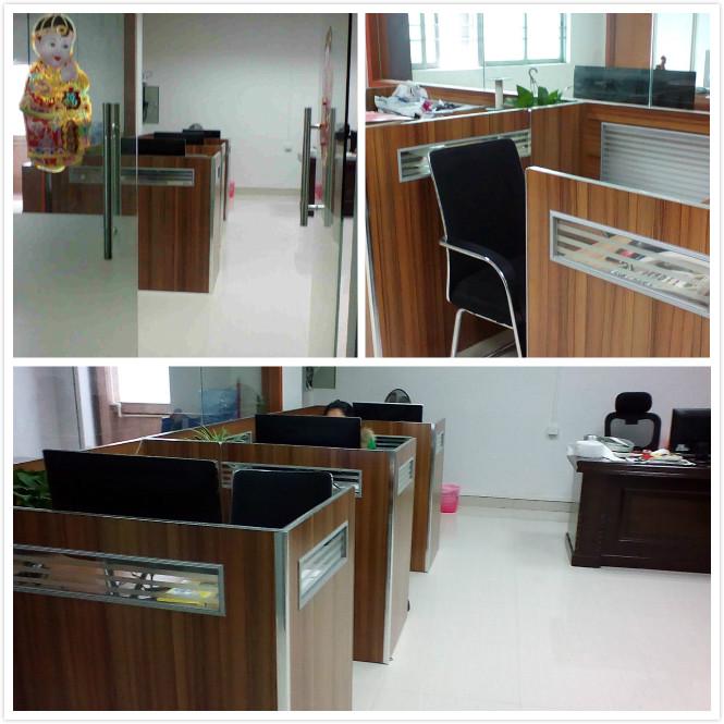 a corner of office