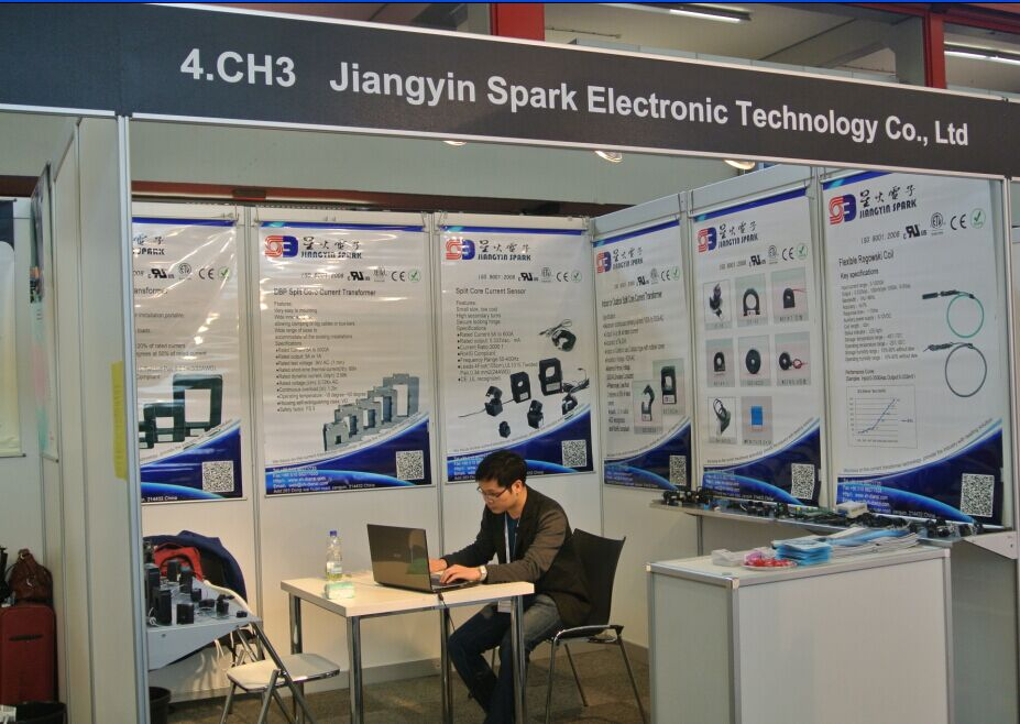 JIANGYIN SPARK took part in European Utility Week in Netherlands in 2014