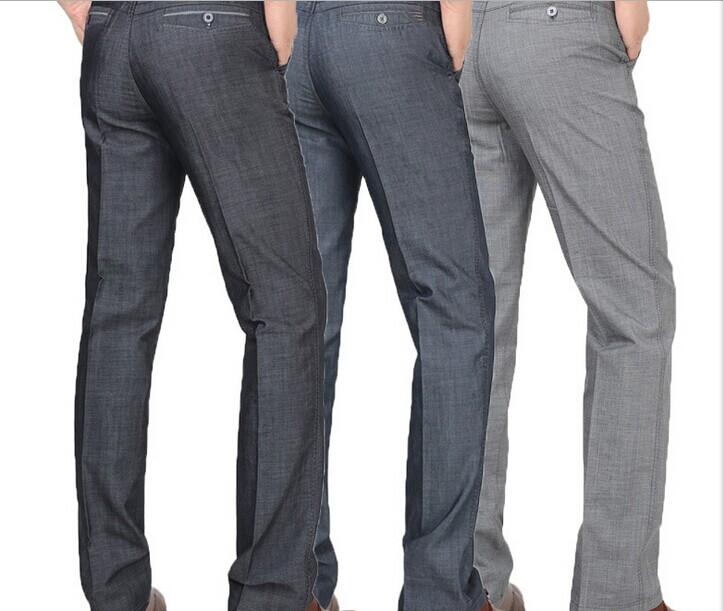 wholesale men's business straight pants