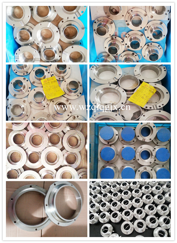Waiting for the butterfly valve assembly in inventory