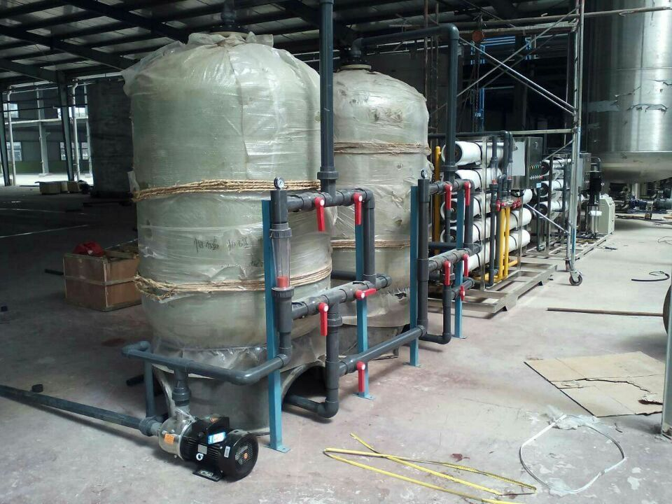 RO system for water plant